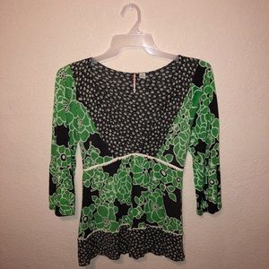 Anthropologie RIC RAC Top